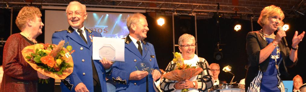 Huldiging Hennie Kuenen & Albert Lohuis